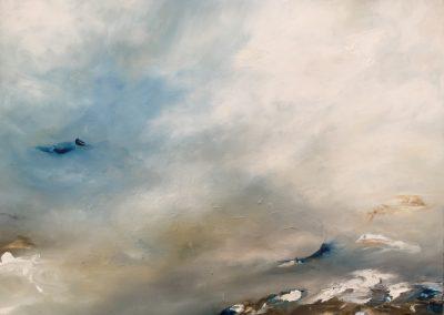 Drifting 61x46cm oil on canvas Framed