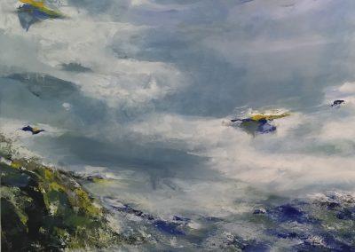Drifting Sands acrylic on canvas 100x100cm SOLD