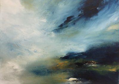 Estuary Island4 oil on canvas 61x46cm SOLD