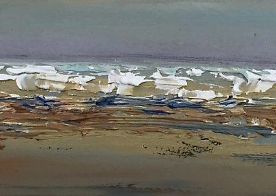 Estuary4 oil on canvas 61x46cm SOLD