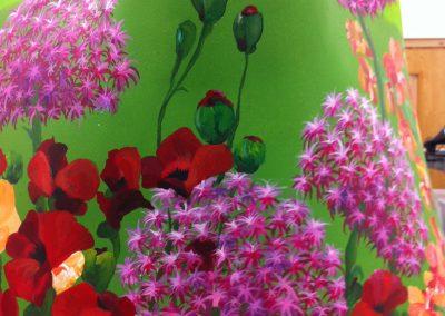 Garden flower detail
