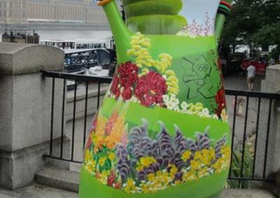 Olympic Mascot - Garden London