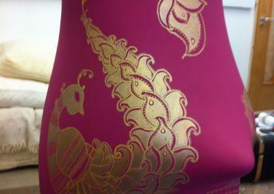 Sari gold detail