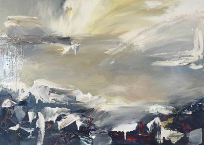Stormy Cape acrylic on canvas 61x46cm