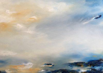 Summer Haze oil on canvas 61x46cm