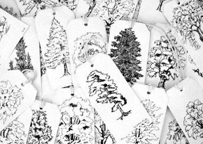 Trees on tags