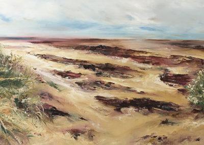 Estuary Red Rocks 70x10ccm SOLD