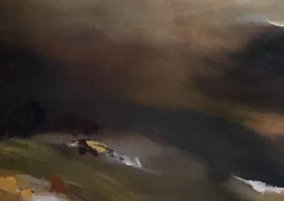 Estuary Reflective Landscape Triptych part1
