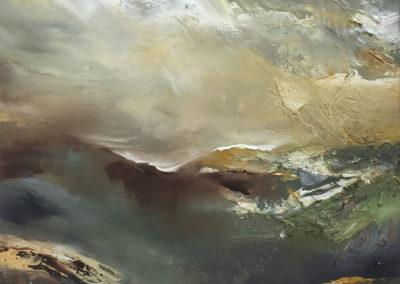 Reflective Landscape ATRR acrylic on board SOLD